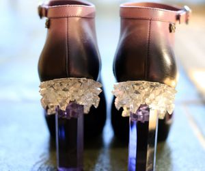 crystal, shoes, and chanel image