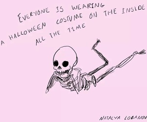 grunge, Halloween, and quote image