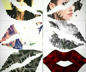 lips, blackveilbrides, and bvb image