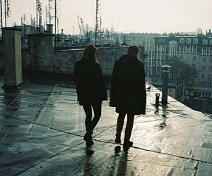 couple, city, and boy image