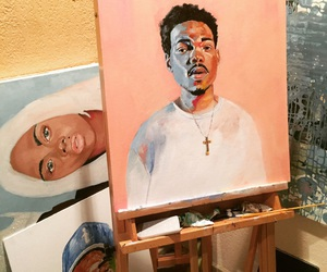 art and chance the rapper image