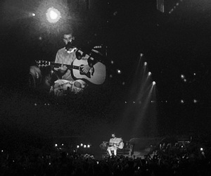 b&w, blessed, and guitar image
