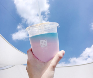 pink, aesthetic, and blue image