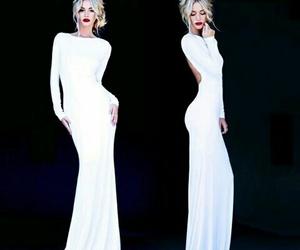 dress, elegant, and long image