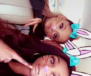 ariana grande and moonlightbae image