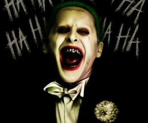 jared leto, joker, and suicide squad image