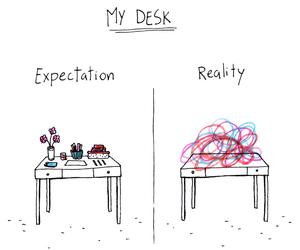 expectation reality image