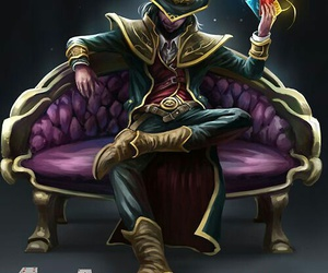 league of legends, twisted fate, and game image