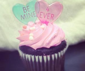be mine, cupcake, and forever image