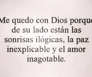 frases, phrases, and dios image
