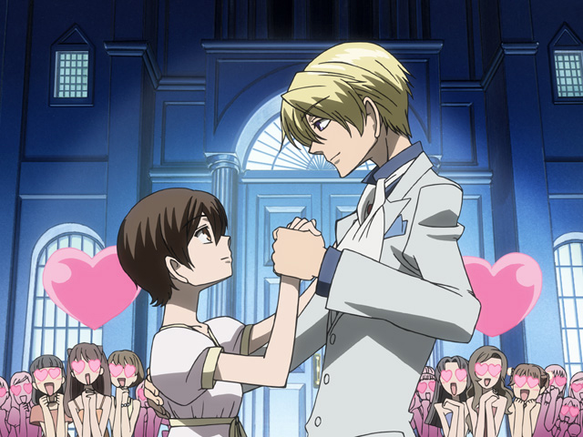 Ouran High School Host Club Anime Website From Funimation