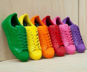 colorful and shoes image