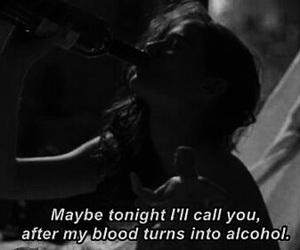 +, alcohol, and Lyrics image