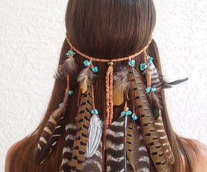 boho and feather image