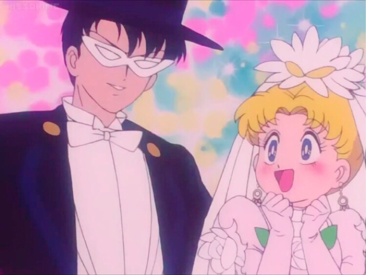 Image about wedding dress in sailor moon 💖 all episode by はに