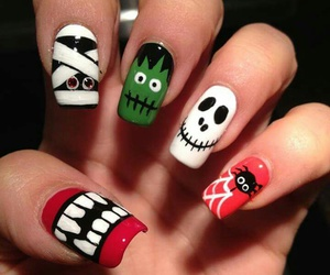nails and Halloween image