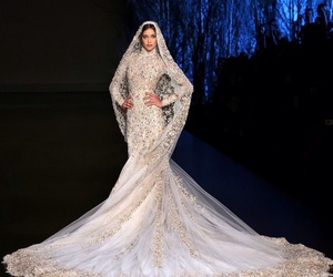 fashion wedding dress, ralph and russo, and gorgeous image