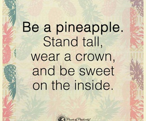 pineapple and quote image