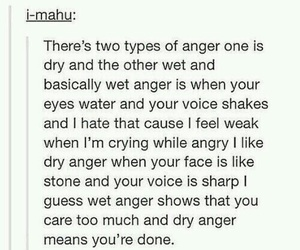 anger, quotes, and tumblr image