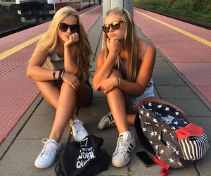 blonde and friends image