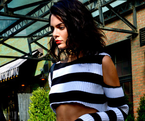 kendall jenner, make up, and style image