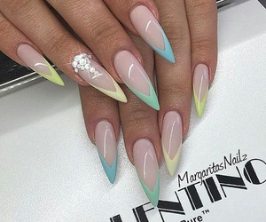 divine, crystals, and nails image