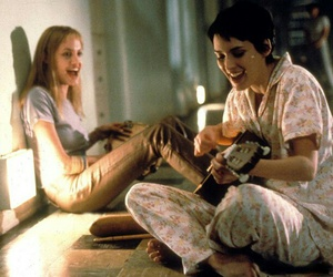 girl interrupted, Angelina Jolie, and winona ryder image