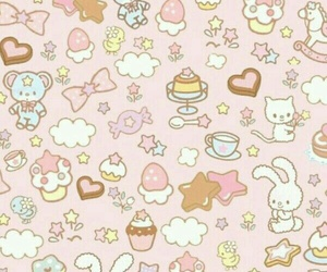 wallpaper, kawaii, and background image