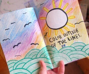 drawing, tumblr, and wreck this journal image