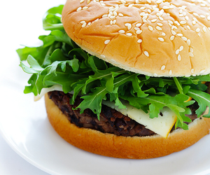 burger, delicious, and yummy image