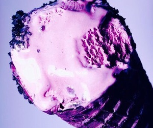 purple ice cream image
