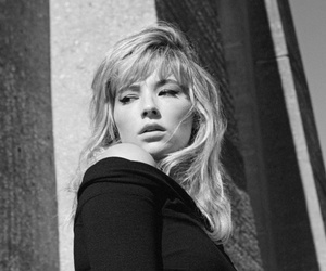 black and white and haley bennett image