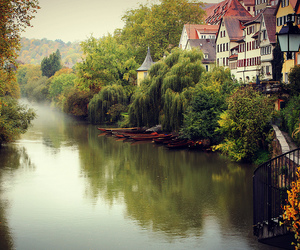 germany and river image