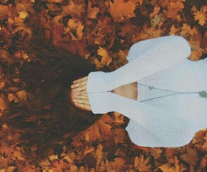 autumn, fall, and girl image