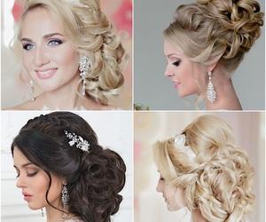bride, cosmetics, and makeup image