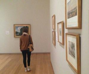 art, brown, and indie image