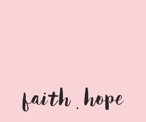 wallpaper, pink, and faith image