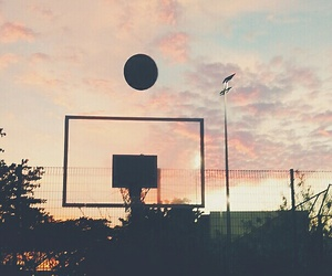 Basketball, evening, and photography image