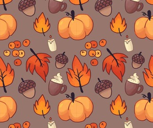 fall and pumpkin spice lattes image