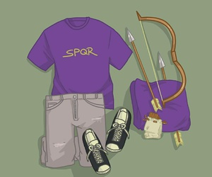 style, percy jackson, and frank zhang image
