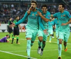 Barca, boys, and football image