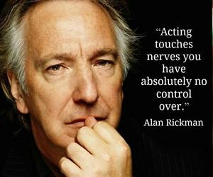 alan rickman and acting image