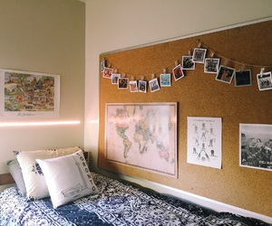 aerie, bedroom, and cozy image