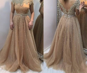 dress, beautiful, and Prom image
