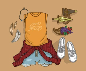 style, percy jackson, and piper mclean image