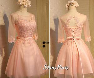 bridesmaid, dress, and dresses image