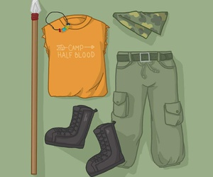 style, percy jackson, and clarisse la rue image