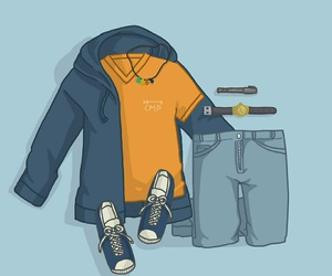 style and percy jackson image