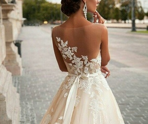 dress, perfect, and white image