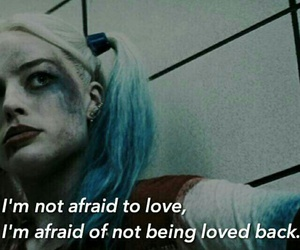 love, quote, and suicide squad image